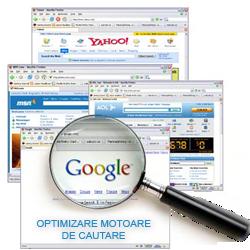 search engine optimization = optimizare motoare de cautare
