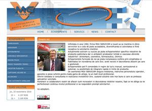 site web produse si servicii